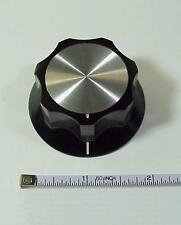 Swan Fluted Tuning Knob for Amplifiers & Tuners