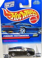 HOT WHEELS 1998 FERRARI TESTAROSSA COLLECTOR #834 BLACK