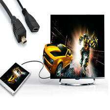 New Arrival Micro HDMI Male to HDMI Female Adapter Cable Cord Convertor 1080P