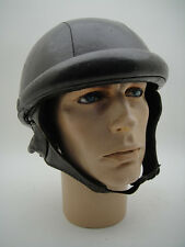 OLD 30's 40's Motorcycle Leather Helmet TT Vintage Pilot Racing Classic Racer