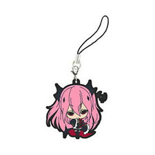 Seraph of the End Krul Tepes Rubber Phone Strap Anime Licensed NEW