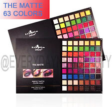 Italia Deluxe-THE MATTE 63 EYESHADOW PALETTE PERFECT MATCH COLOR CHART*US SELLER