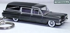 KEY CHAIN GREY 1963/64 CADILLAC FLEETWOOD HEARSE NEW LTD EDITION CUSTOM KEY RING