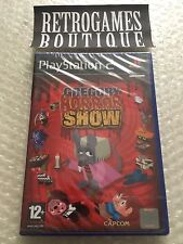 GREGORY HORROR SHOW - PS2 ps3 Playstation 2 - PAL - Brand New / Sealed