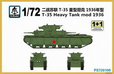 S-model PS720100 1/72 T-35 Heavy Tank Mod 1936
