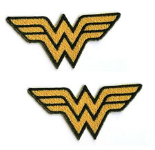DC COMICS SUPERHEROINE WONDER WOMAN 2-PATCH IRON-ON SET