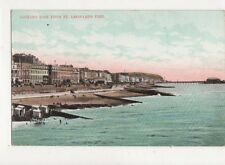 Looking East From St Leonards Pier 1907 Postcard 675a