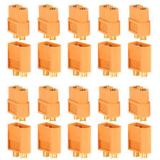 Neewer Xt-60 Male Female Bullet Connectors Plugs For Rc Lipo Battery 10 Pairs