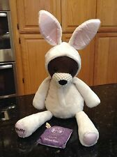Scentsy Buddy Bunny The Bear Stuffed Plush Easter Costume w/ welcome home scent