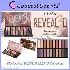 NEW Coastal Scents 20 Nude Shades REVEALED 3 Eye Shadow Palette FREE SHIP Three