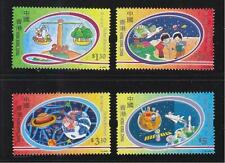 HONG KONG CHINA 2000 NEW MILLENNIUM (CHILDREN'S DESIGNS) COMP. SET OF 4 STAMPS S