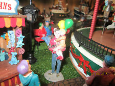 "TRAIN GARDEN VILLAGE HOUSE CARNIVAL  "" DADDY, CARRY ME "" + DEPT 56/LEMAX info"