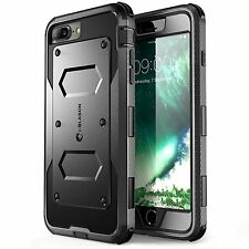 i-Blason - iPhone 7 Plus - Full Body Rugged Protective Holster Case - Black