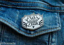 NEW Pin Badge The Legend Of Zelda 30th Anniversary - Exclusive Limited Nintendo