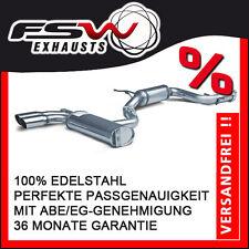 FSW Sport Auspuffanlage komplett ab Kat VW Golf V GTI 147+169kW 2x76mm Racinglin