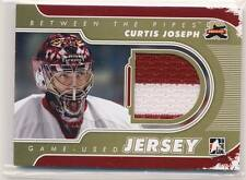 CURTIS JOSEPH 11/12 ITG Between the Pipes BTP JERSEY GOLD /10 COYOTES **