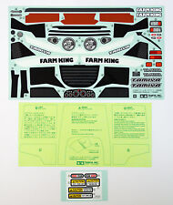 Tamiya 19495760 RCC FARM KING Sticker/Masking (WR-02G)