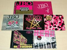 7 CD SAMMLUNG JBO - MEISTER DER MUSIK EXPLIZITE LYRIK SEX LAUT BLÖDSINN J.B.O.