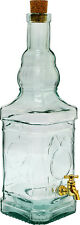 Glass bottle 3.4l for wine, vodka, whisky Free Fast P&P 24h UK