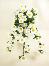 Artificial Flowers Wired Daisy Trailing Plant for Hanging Baskets and Trellis