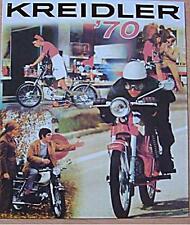 Altes Blechschild Oldtimer Kreidler Florett Modelle 70 Werbung gebraucht