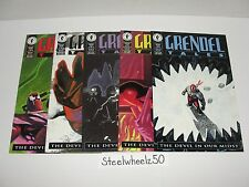 Grendel Tales Devil In Our Midst #1-5 Comic Lot Dark Horse 1994 2 3 4 COMPLETE