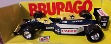 BBURAGO WILLIAMS RENAULT FW14 NIGEL MANSELL F1 CAR 91 92 GRAND PRIX SENNA 1/24