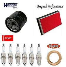 Tune Up Kit Air Oil Filters Plugs Gasket for Nissan Maxima V6; 3.5L 2002-2006