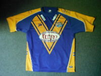 Leeds Rhinos Large Mens Rugby League Shirt