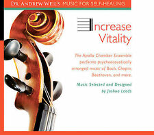 INCREASE VITALITY BY ANDREW WEIL (CD, Oct-2006, Gemini Sun) (NEW & SEALED)