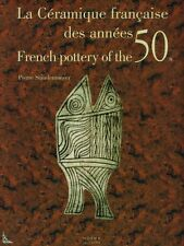 French pottery of the 50's, book by P.Staudenmeyer