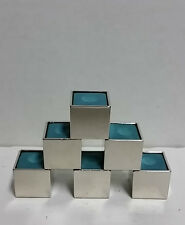 NEW Billiard Cue Chalk in Chrome Holder - Lot of 6 Pieces