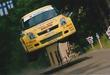 Guy Wilks Hand Signed 12x8 Photo Suzuki Swift Rally 2.