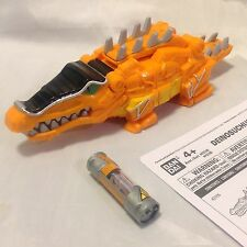 DELUXE DEINOSUCHUS ZORD - POWER RANGERS DINO SUPER CHARGE DX MEGAZORD FREE SHIP