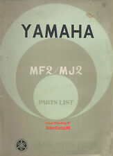 Yamaha 50/55 MF2,MJ2 (1963-1967) Fully Illustrated Parts Catalogue MF-2,MJ-2,MF