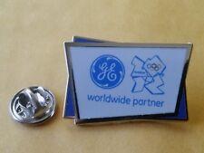 LONDON 2012 Olympic GE (General Electric)  sponsor rare pin