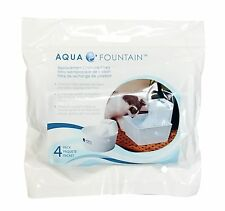 x4 AQUA CUBE Pet Fountain REPLACEMENT CHARCOAL FILTERS • Keeping Water Fresh HQ