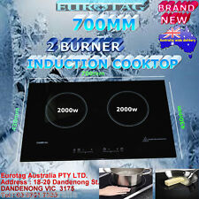NEW EUROTAG  2 BURNER EMBEDDED 700mm INDUCTION COOKTOP BSI-30H BRAND NEW