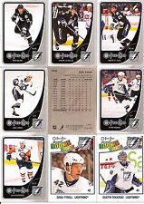 2010-11 OPC O-Pee-Chee Tampa Bay Lightning Complete Team Set w/ Leaders (21)