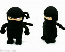 Black ninja pen drive 4GB USB 2.0 Memory Stick Flash Pen Drive Flash Storage