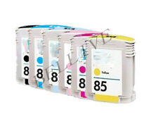 6 CARTUCCE PER HP84 HP85 Designjet 30gp, Designjet  30 , 130nr , 130gp , 130 ,