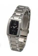 Casio LTP1165A-1C Ladies Stainless Steel Analog Casual Dress Watch Black Dial