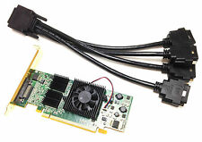 128MB MATROX Grafikkarte PCI , QID-E128LPAF, KX-20, high profile incl. Kabel