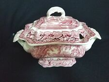 Masons VISTA RED - Soup Tureen w/Lid (Large)