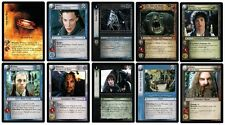 LOTR TCG FELLOWSHIP OF THE RING : COMPLETE 363-CARD SET NEW MINT