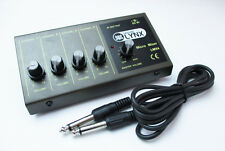 Portable 4 Channel Way Microphone Mixer Guitar DJ PA Jack Inputs