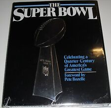 "1990 ""The Super Bowl"" Celebrating Americas Greatest Game NFL FWD by Pete Rozelle"