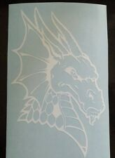 Vinyl Decal Sticker..Dragon Head..Mythical..Car Truck Window Laptop