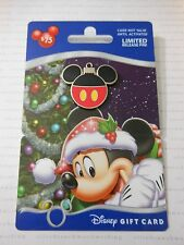 2013 Disney Christmas MICKEY MOUSE ORNAMENT PIN Happy Holidays Gift Card GWP Pin