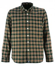Dickies OLDENBURG Grösse M Mens Regular Fit Long Sleeve Shirt Hemd grün green